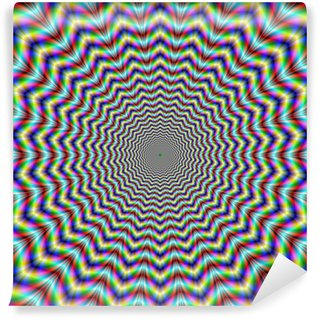 Vinyl-Fototapete Psychedelic Web