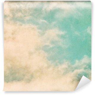Vinyl-Fototapete Retro Schmutz-Nebel