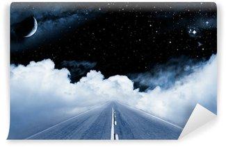 Vinyl-Fototapete Road to the Galaxy