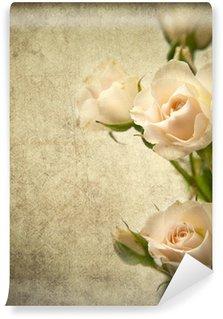 Vinyl-Fototapete Rose Textur