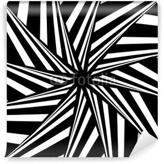 Vinyl-Fototapete Rotation Illusion. Abstract design.