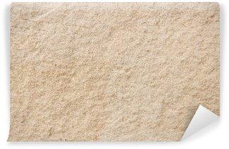 Vinyl-Fototapete Sand die Mauer, Sandstein, Putz, Hintergrund, Textur