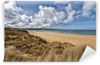 Vinyl-Fototapete Schöne Strandlandschaft in Cornwall
