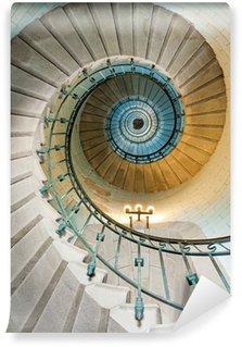 Vinyl-Fototapete Schönen Leuchtturm Treppe