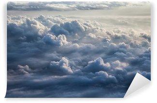 Vinyl-Fototapete Schöner blauer Himmel Hintergrund