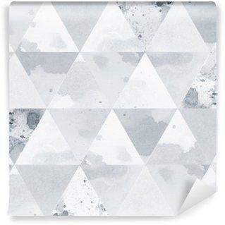 Vinyl-Fototapete Schwarz-Weiß-Muster