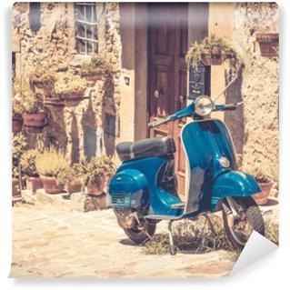 Vinyl-Fototapete Scooter in der Toskana