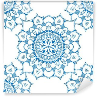 Vinyl-Fototapete Seamless floral pattern
