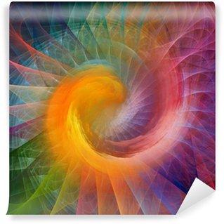 Vinyl-Fototapete Spiral Hintergrund
