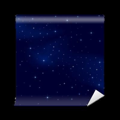 Fototapete sternenhimmel  Vinyl-Fototapete Sternenhimmel • Pixers® - Wir leben um zu verändern