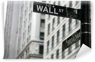 Vinyl Fototapete Street wall