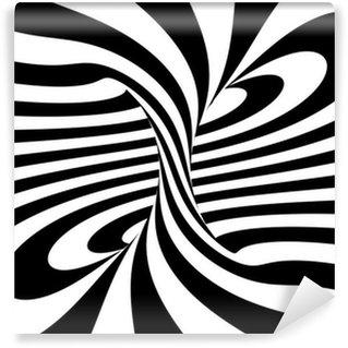 Vinyl-Fototapete Strudel der Linien, 3D-