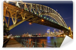 Vinyl-Fototapete Sydney Harbour Bridge 2
