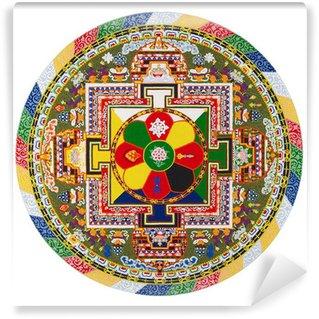 Vinyl-Fototapete Tibetan mandala
