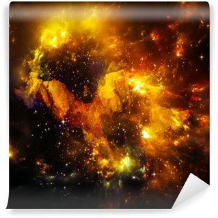 Vinyl-Fototapete Tiefe von Nebula