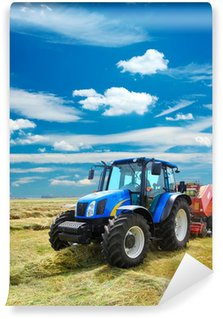 Vinyl-Fototapete Traktor