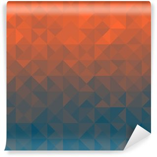 Vinyl-Fototapete Triangle Hintergrund
