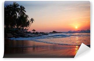 Vinyl Fototapete Tropical beach