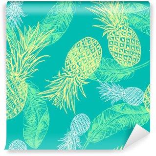 Vinyl-Fototapete Tropical nahtlose Muster.