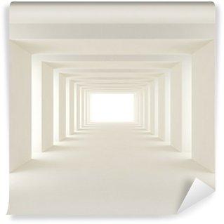Vinyl-Fototapete Tunnel aus Licht