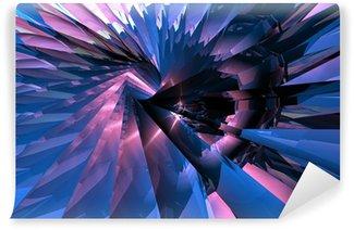 Vinyl-Fototapete Turbine abstract 2