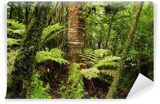 Fototapete urwald  Vinyl-Fototapete Urwald • Pixers® - Wir leben um zu verändern
