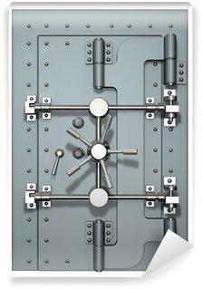 Vinyl Fototapete Vault-Tür