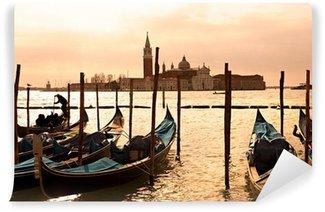 Vinyl-Fototapete Venedig, Blick auf San Giorgio stieg von San Marco.
