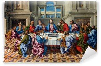 Vinyl-Fototapete Venedig - Letzte Abendmahl Christi von Girolamo da Santacroce