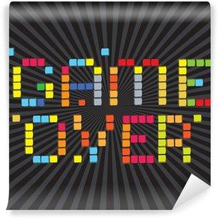 Vinyl-Fototapete Video-Spiele Icons