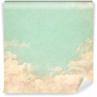 Vinyl-Fototapete Vintage Grunge-Sky