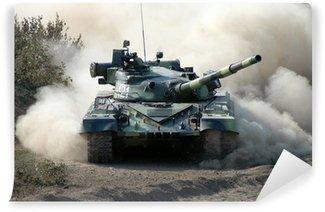 Vinyl-Fototapete War. Panzer in Bewegung