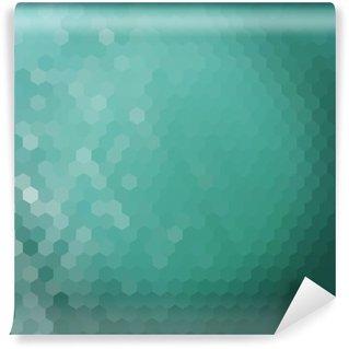 Vinyl-Fototapete Wasser Hexagon Hintergrund