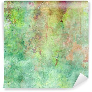 Vinyl-Fototapete Wasserfarbe alte Papier Textur, Jahrgang Hintergrund