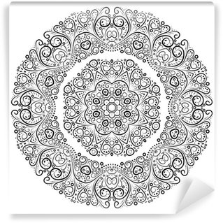 Vinyl-Fototapete Weinlese-antike Ornament Hintergrund. Vektor-Illustration.