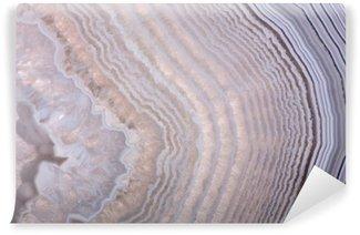 Vinyl-Fototapete Wellen in Licht Achat Struktur