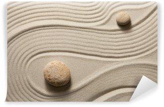 Vinyl-Fototapete Zen garden