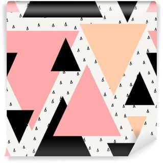 Fototapet av Vinyl Abstrakt geometrisk sømløs mønster.