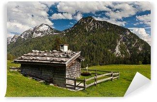 Fototapet av Vinyl Alp chalet