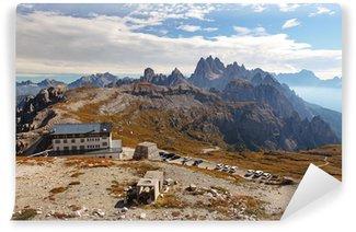 Fototapet av Vinyl Alp Dolomiterna berg - Italien