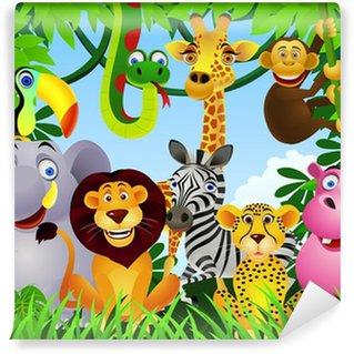 Fototapet av Vinyl Animal tecknad