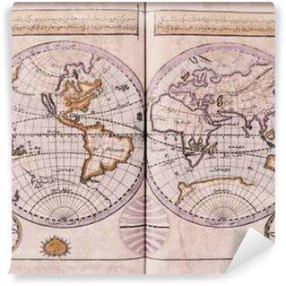 Fototapet av Vinyl Arabiska gammal karta