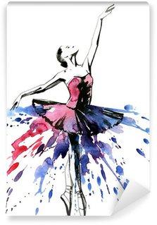 Fototapet av Vinyl Ballerina