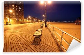 Fototapet av Vinyl Brighton Beach i Coney Island, New York, USA