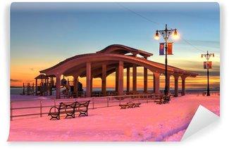 Fototapet av Vinyl Brighton Beach, NY, Winter