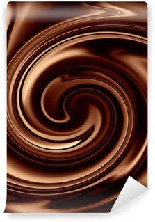 Fototapet av Vinyl Choklad bakgrund