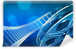 Fototapet av Vinyl Cinema filmrulle