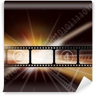 Fototapet av Vinyl Cinema vintage bakgrund