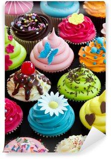 Fototapet av Vinyl Cupcakes