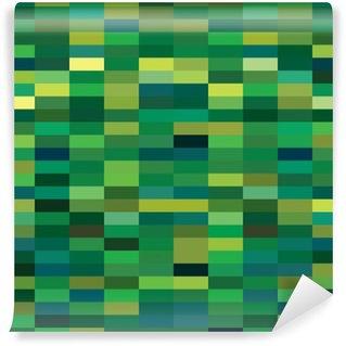 Fototapet av Vinyl En abstrakt pixel art vektor bakgrund
